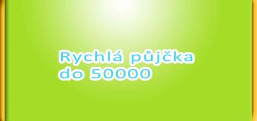 Rychlá půjčka do 50000
